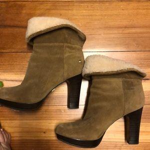 Ugh high heeled boots